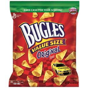 6 Bags Bugles Corn Snacks Original