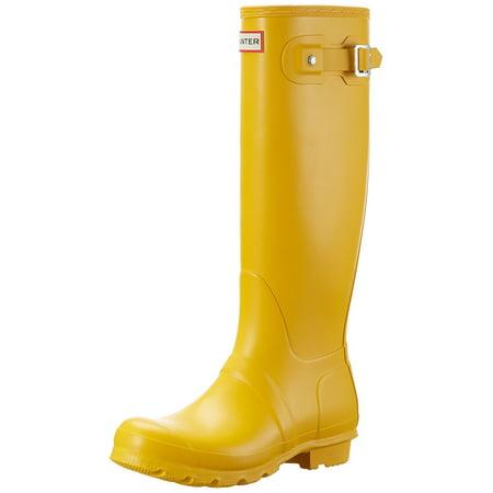 Hunter WFT1000RMA-RYL: Women's Original Tall Yellow Rain Boots