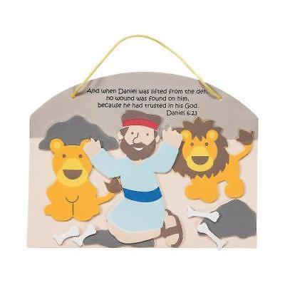Daniel & the Lions' Den Sign Craft Kit Makes 12](Daniel And The Lions Den Craft)
