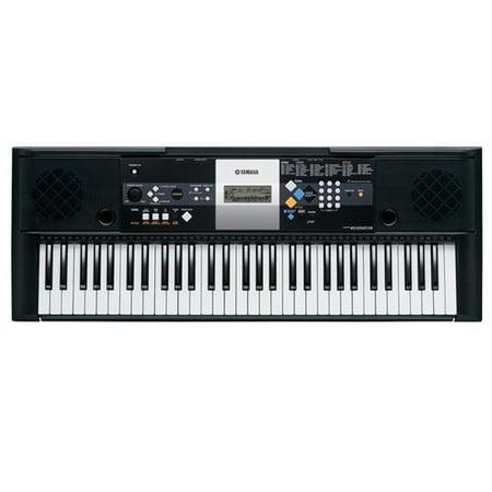 yamaha psr e253 61 key full sized portable keyboard with. Black Bedroom Furniture Sets. Home Design Ideas