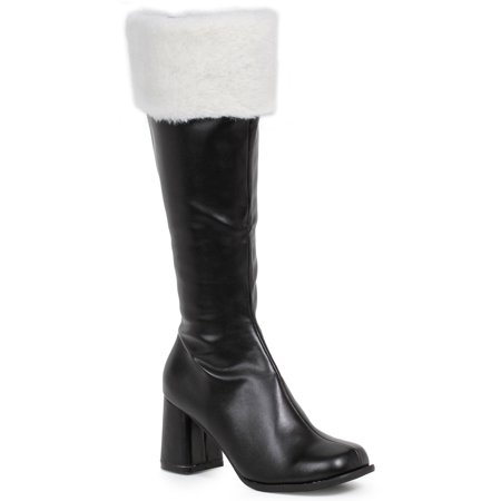 UPC 843226006629 product image for Women's Black Gogo Boots with Faux Fur | upcitemdb.com