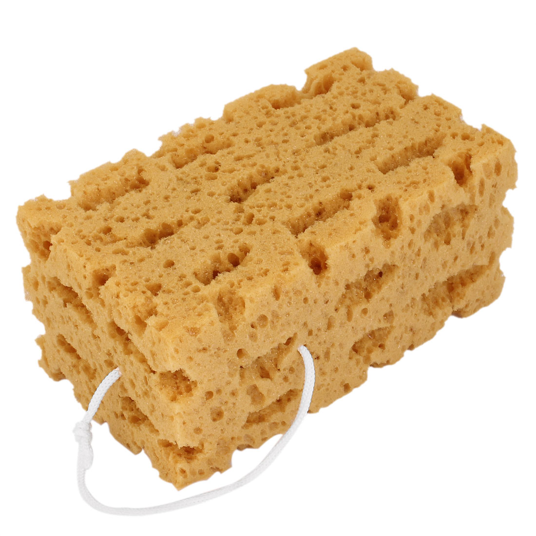 Brown Clean Washing Tool Rectangular Coral Sponge for Cleaner Car Vehicle