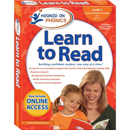 Hooked on Phonics Learn to Read - Level 1 : Early Emergent Readers (Pre-K | Ages 3-4) (Hooked On Phonics Readers)