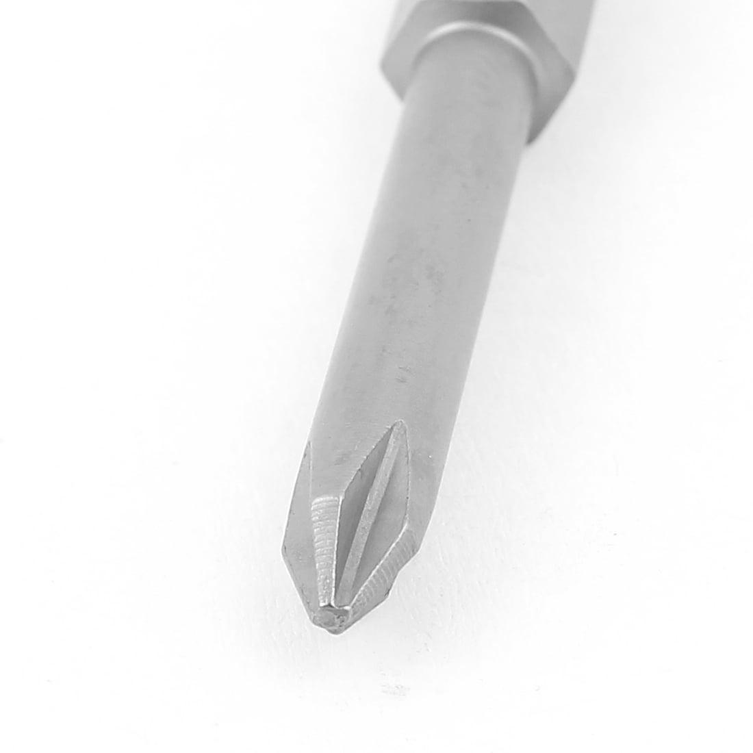 """5pcs 1/4"""" Hex Shank 4.5mm PH1 Magnetic  Crosshead Screwdriver Bits 50mm - image 1 de 3"""