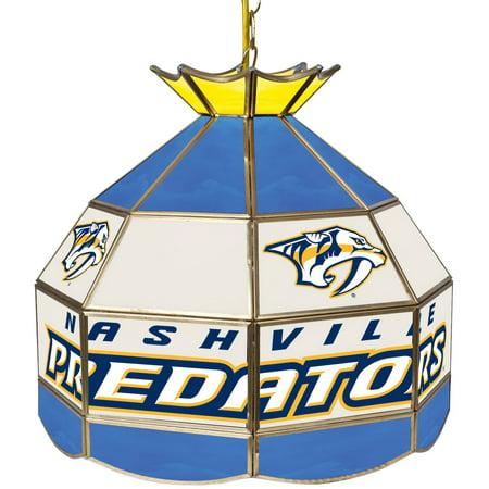 "NHL 16"" Handmade Tiffany Style Lamp, Nashville Predators by"