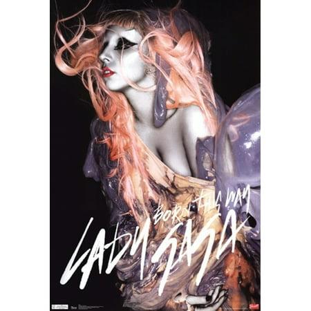 Lady Gaga   Born This Way Poster Poster Print