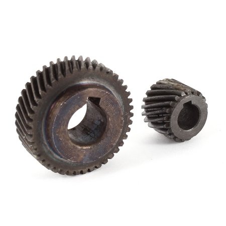 Unique Bargains 2 in 1 Spiral Helical Gear Wheel Set for  4100 Cutting - Spur Helical Gears