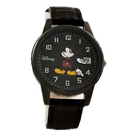 Mickey Mouse Classic Watch for Men - Women Black Disney Classic Watch