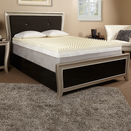Luxury Solutions 2'' Memory Foam Mattress Topper