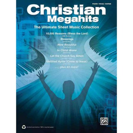 Christian Megahits  The Ultimate Sheet Music Collection  Piano Vocal Guitar