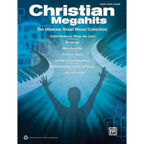 Christian Megahits: The Ultimate Sheet Music Collection, Piano/Vocal/guitar