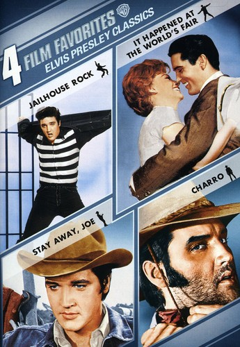 4 Film Favorites: Elvis Presley Classics (DVD) by TIME WARNER