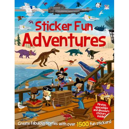 - Sticker Fun Adventures : Create Scenes with Over 1500 Stickers