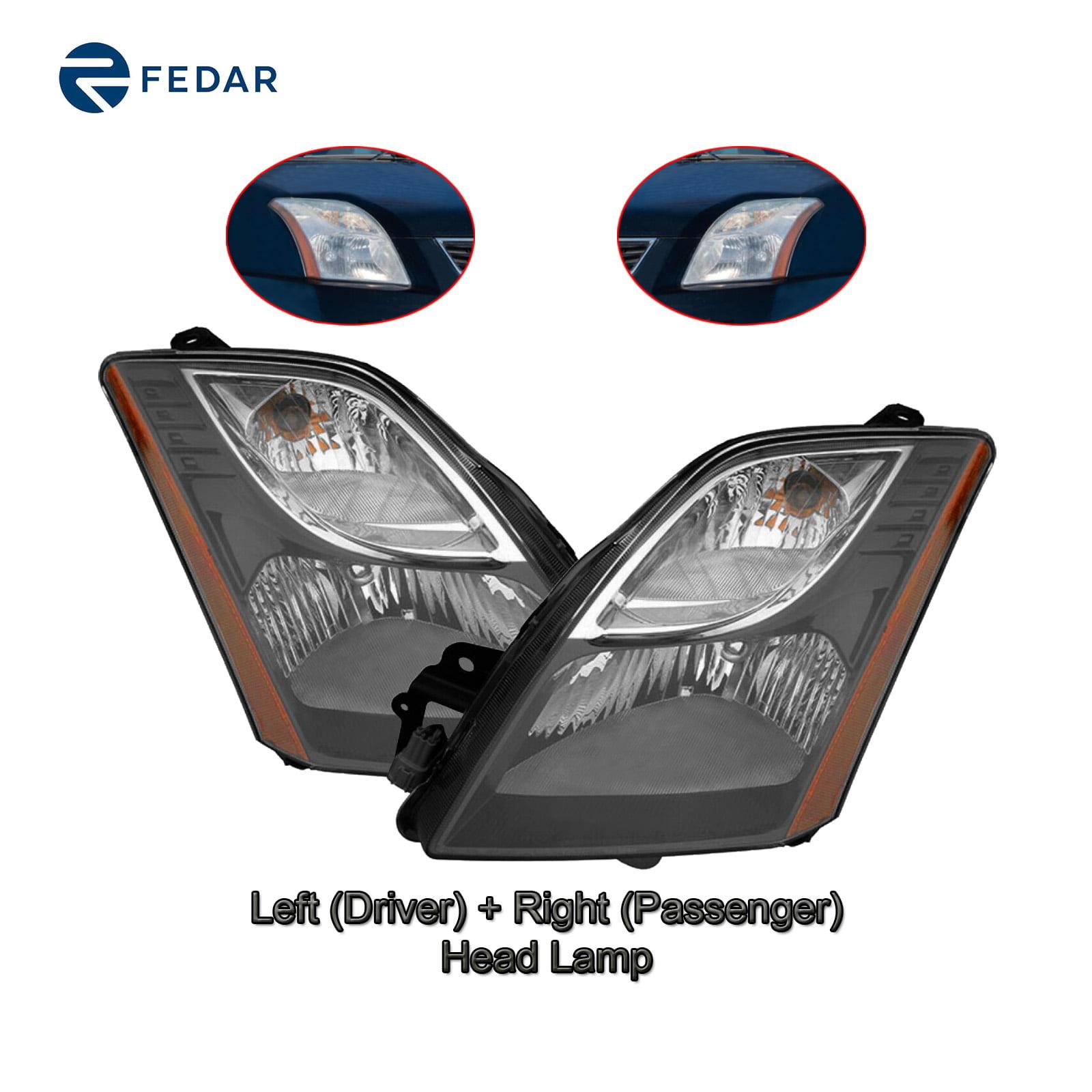 Left Driver Side Head Lamp Headlight For 2010-2011 Nissan Sentra