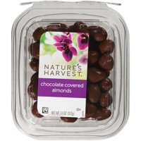 Nature's Harvest Chocolate Almonds, 11 oz