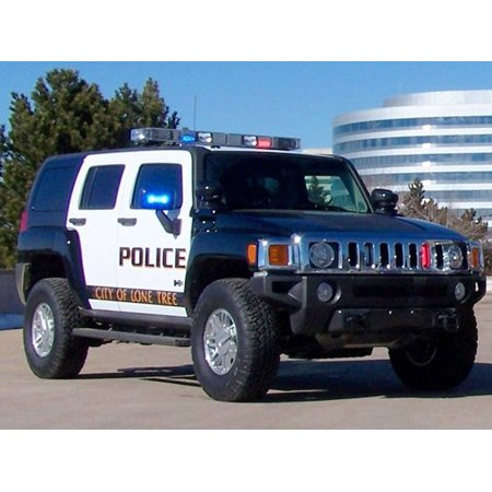 2006 2007 2008 2009 2010 Hummer H3 Police Strobes for Headlamp Headlight  Head Lamp Strobe Light Kit