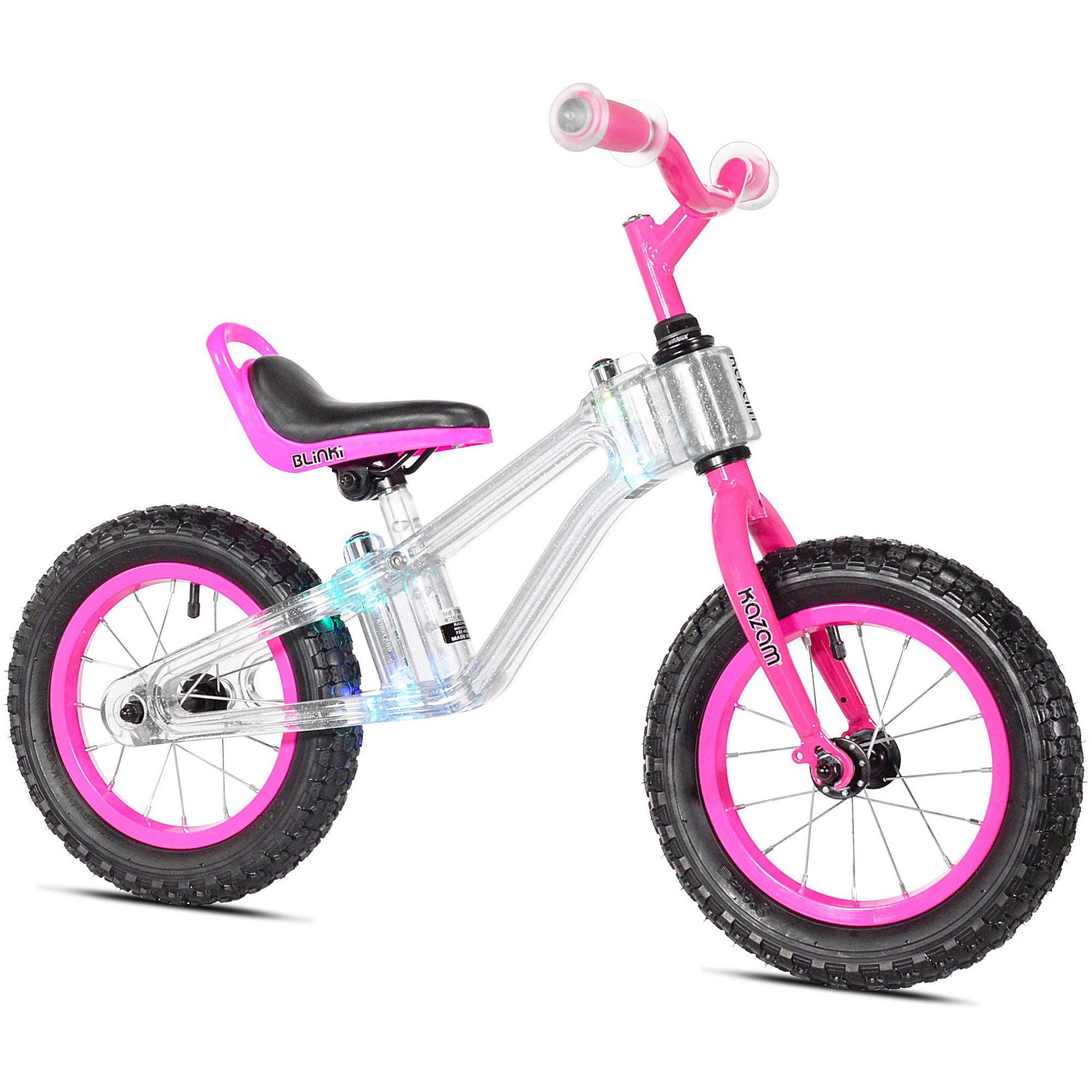 "KaZAM 12"" Child's, Blinki Balance Bike, Purple, For Ages 2-5"