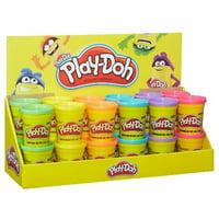 Play-Doh Single Can 4oz. Ast 24ct Bulk Case Original Hasbro