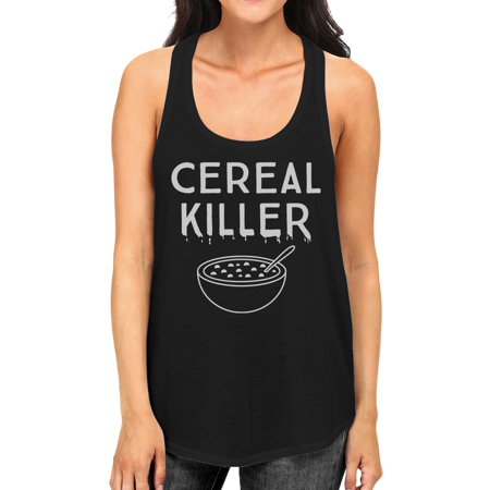 Cereal Killers Halloween (Cereal Killer Funny Halloween Tank Top Womens Cute Graphic)
