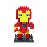Loz Nanoblock Diamond Block IRON MAN Parent-child Games Building Block Toy