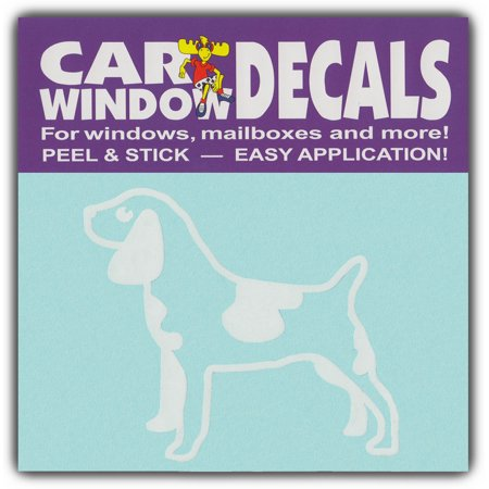 Car Window Decals: Large Size Dog Breed   Family Stick Figures   Stickers (Dog Breed Window Decals)