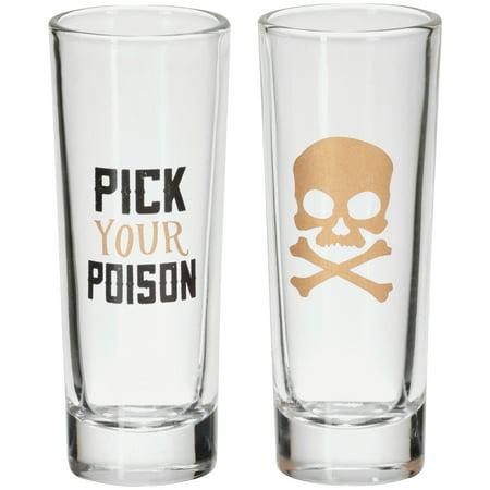 Halloween Brain Shot (Halloween Pick Your Poison Shot Glass, 2)