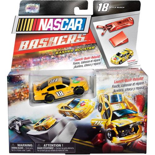 NASCAR Full Blast Crash Car Launcher, #18 M&M's (Kyle Busch)