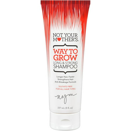 Not Your Mother's Way To Grow Long & Strong Shampoo, Long Hair Shampoo, 8 (Best Shampoo For African American Hair Growth)