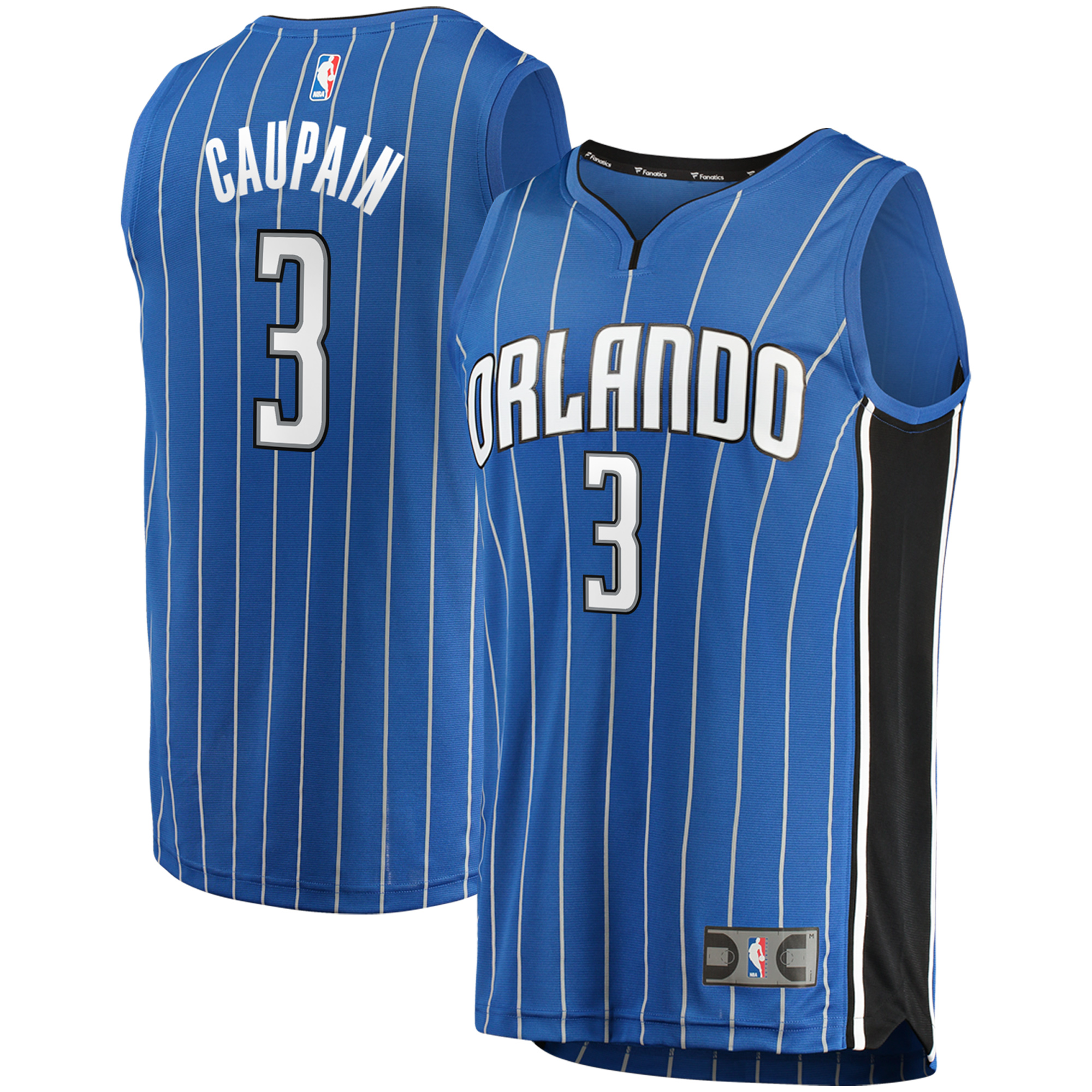 Troy Caupain Orlando Magic Fanatics Branded Fast Break Replica Jersey - Icon Edition - Blue