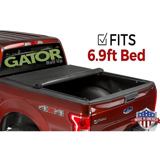 Gator Roll Up Fits 2008 2016 Ford Super Duty F250 F350 6 9 Ft Bed Only Soft Tonneau Truck Bed Cover Made In The Usa 53311 Walmart Com Walmart Com