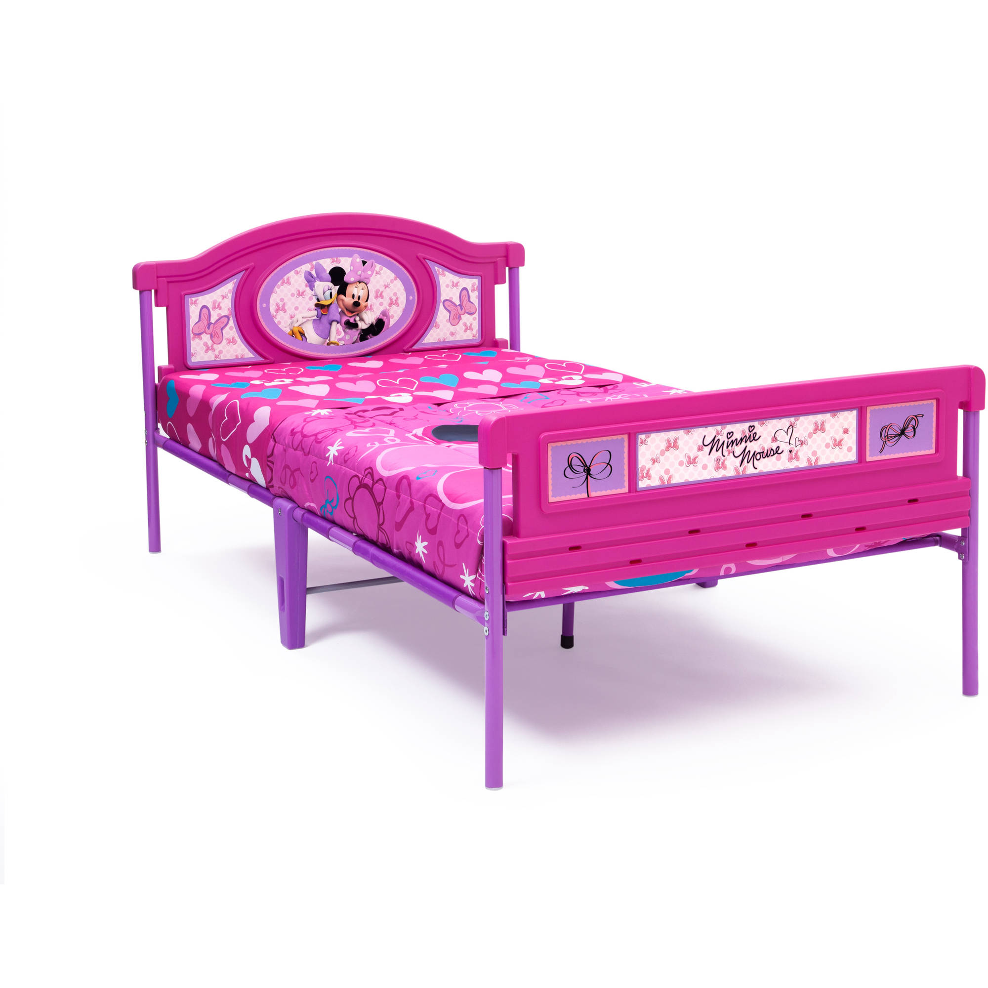 Minnie Mouse Plastic Twin Bed