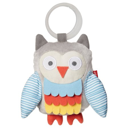 Skip Hop Treetop Friends Wise Owl Stroller Toy, - Friends Stroller Toy