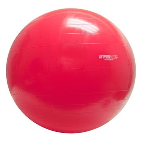 Physiogymnic Ball - 38 in. Physiogymnic Molded Vinyl Inflatable Ball, Red