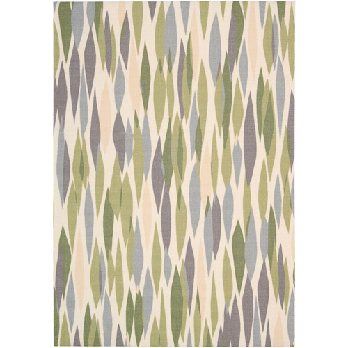Nourison Waverly Sun N' Shade Polyester Indoor/Outdoor Rug, Violet