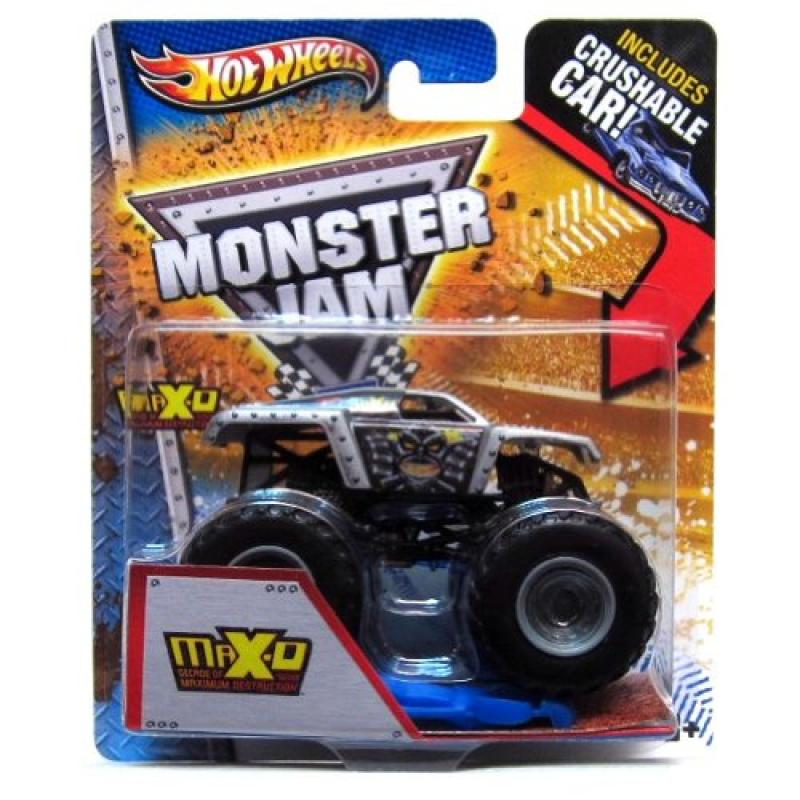 2013 Hot Wheels Monster Jam, MAX-D Decade of Maximum Destruction, with Crushable Car. 1:64... by
