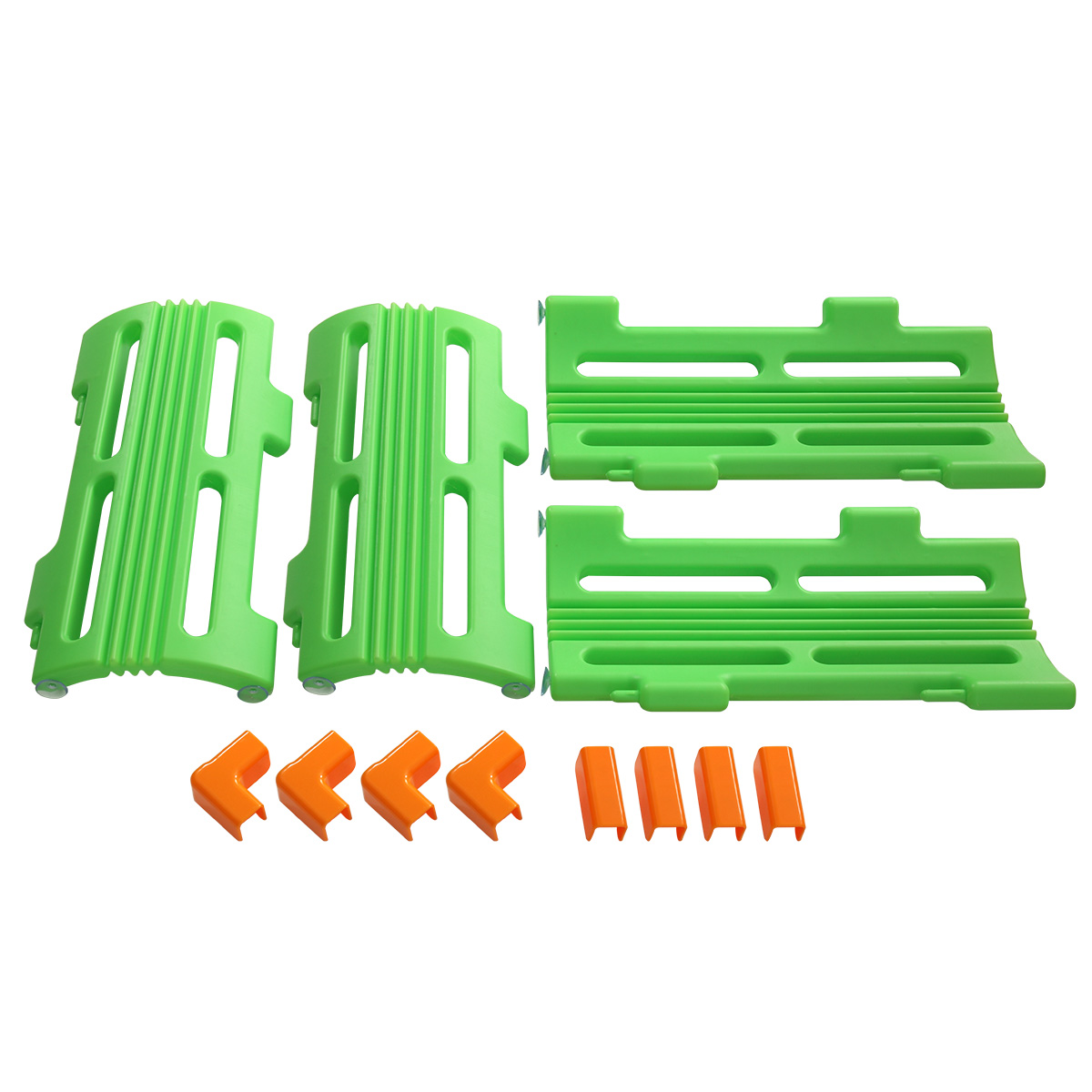 Jaxpety 4 PCS Corner Piece For Baby Playpen Kids Safety Play Center Yard Home Green