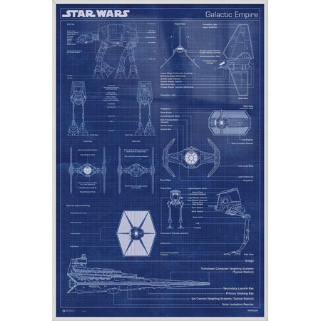 Star wars framed movie poster print galactic empire fleet ships this button opens a dialog that displays additional images for this product with the option to zoom in or out malvernweather Image collections