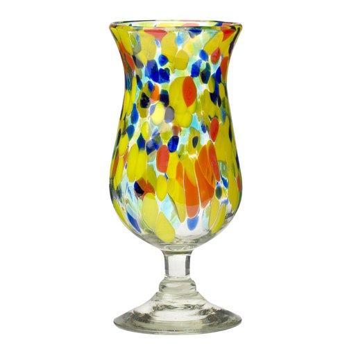 Latitude Run Hermanson Hurricane Drinking 15 oz. Glass Liqueur Glass (Set of 4)