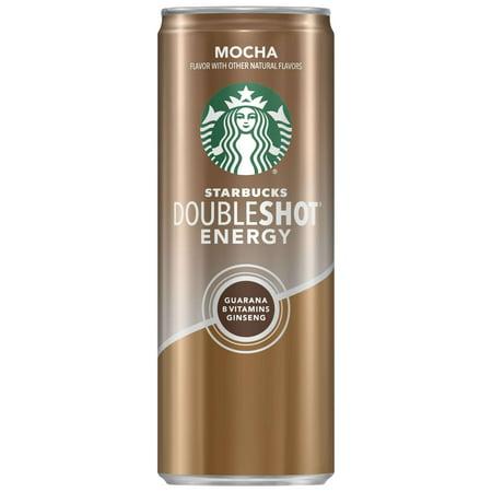 (24 Cans) Starbucks Doubleshot Energy, Mocha, 11 Fl Oz (Starbucks Halloween Frappuccino)