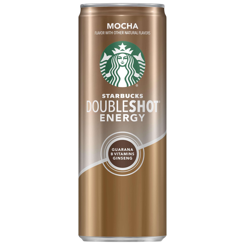 (6 Pack) Starbucks Doubleshot Energy, Mocha, 11 Fl Oz, 4 Count