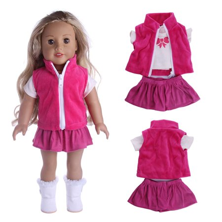 ?MIARHB?Lovely Coats Three-piece Suit 18 inch Our Generation For American Doll Girl