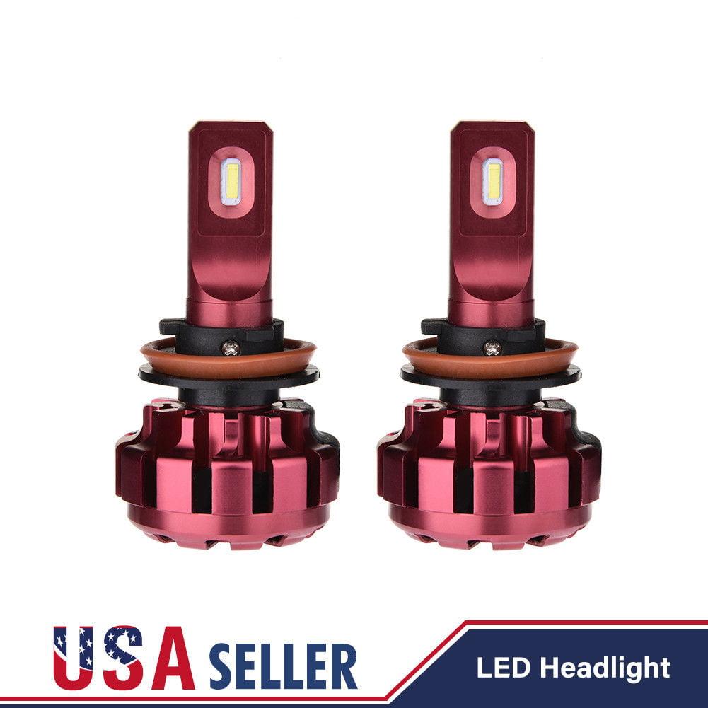 JDM ASTAR 2x 10000 Lumens Extremely Bright H11 H8 LED Headlight Hi//Lo Beam Bulbs