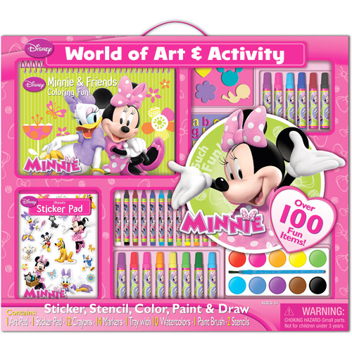 Artistic Studios Disney Activity Set, Minnie Bow-tique