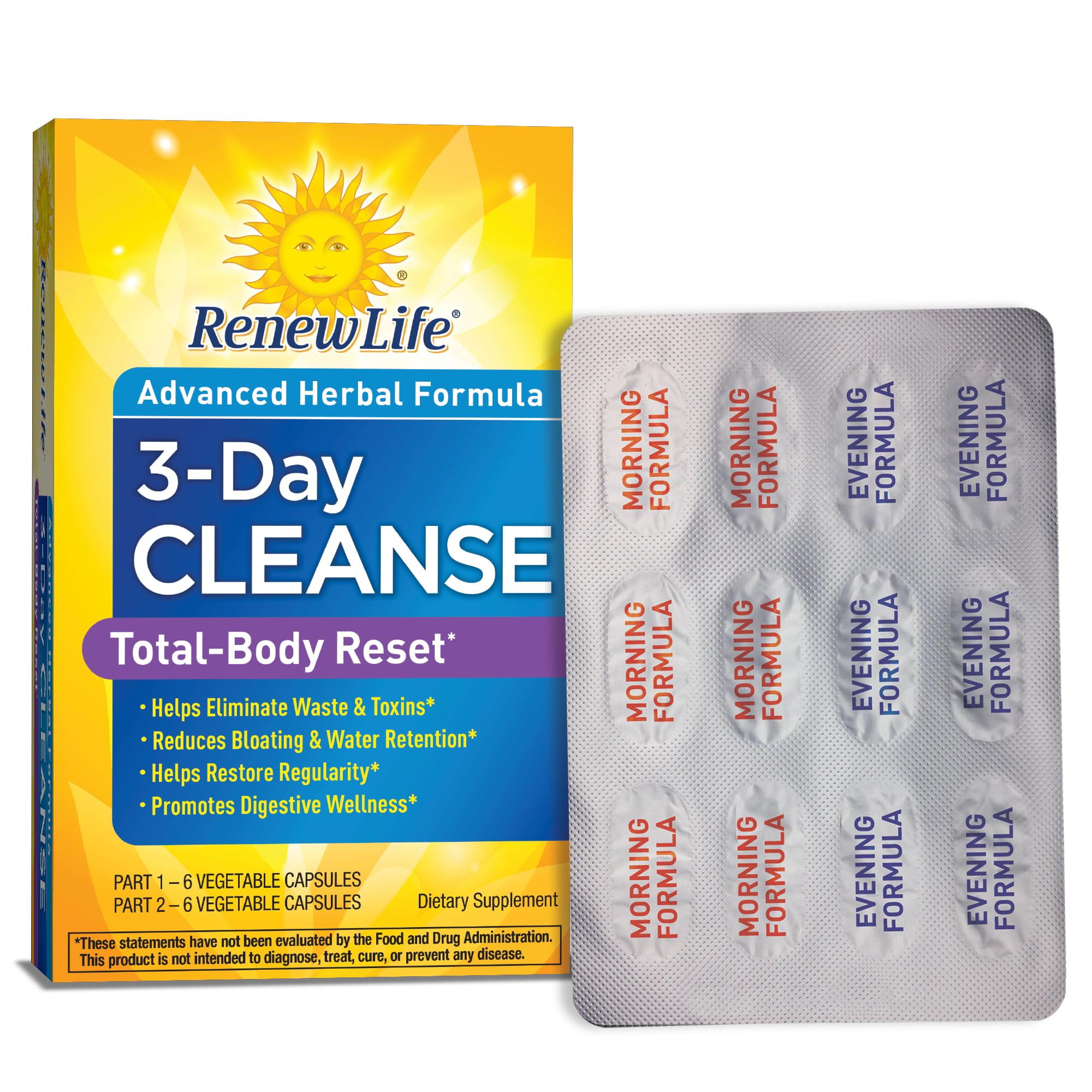 ReNew Life Formulas ReNew Life  Cleanse, 12 ea