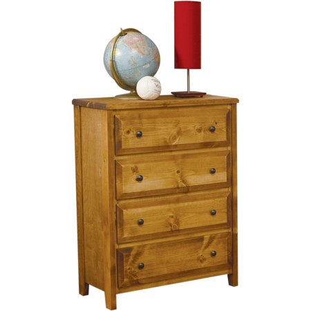 - Coaster Company Wrangle Hill Youth Collection 4-Drawer Chest, Amber
