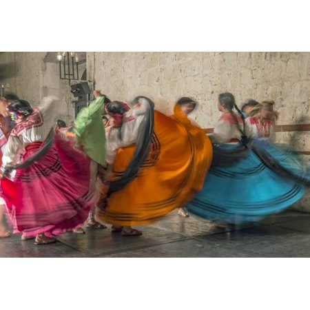 - Mexico, Oaxaca, Mexican Folk Dance Print Wall Art By Rob Tilley