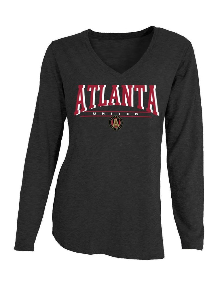 Atlanta United FC Long Sleeve Shirt Pajama T-Shirt by Concepts Sport