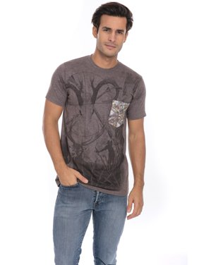 84728974b Product Image Camo Wild Life Hunting Game Soft T-Shirt Tee Printed Pocket  Unisex Mens - Brown