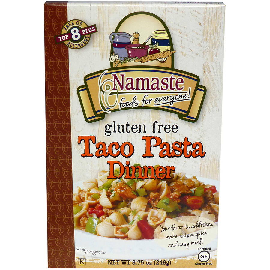 Namaste Foods Taco Pasta, 8.75 oz (Pack of 6)