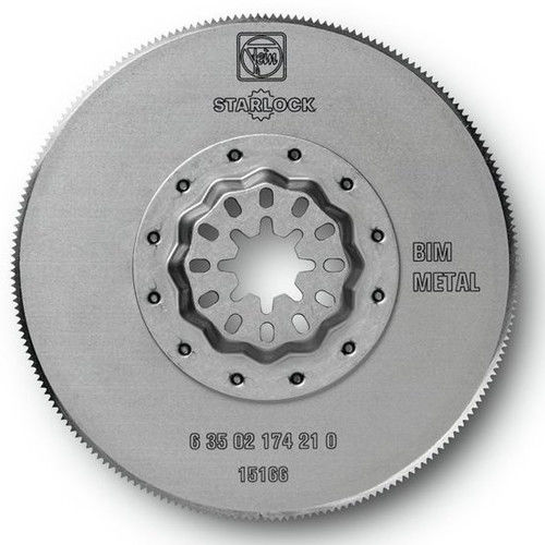 Fein 63502174230 3-3 8 in. Round High-Speed Steel Circular Oscillating Saw Blade (5-Pack) by